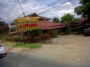 ini tempat menginap kami di Cibadak Sukabumi. zzzz....