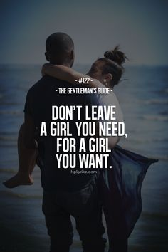 dont leave a girl