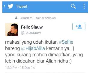 felix selfie