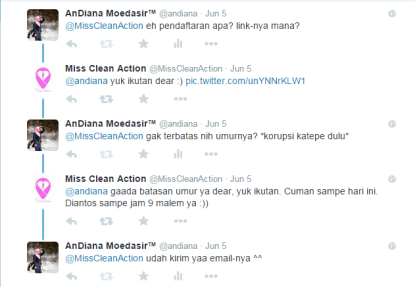 Miss Clean Action -tanya
