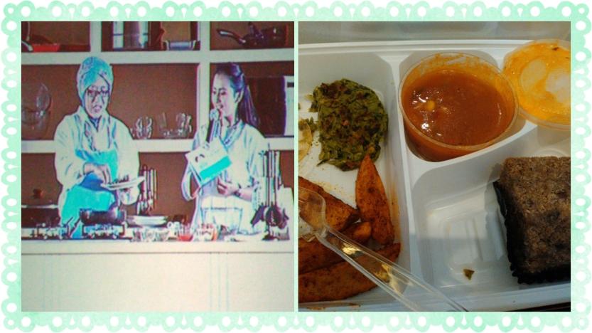 dr. Peni demo masak dan hasil masakan sehat rumahan. top!