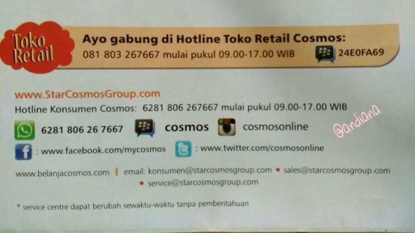 Kontak Cosmos Indonesia