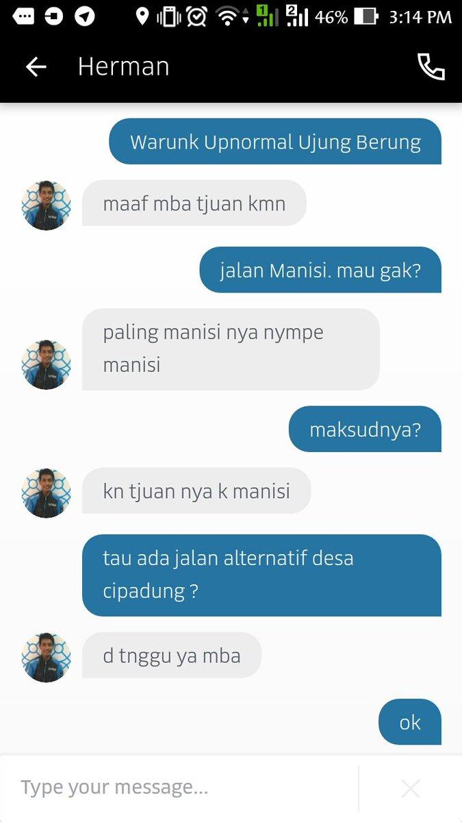 Ojek Line Ojek Pangkalan Dan Kedangkalan Nurani