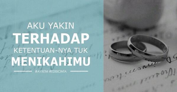 menikahimu